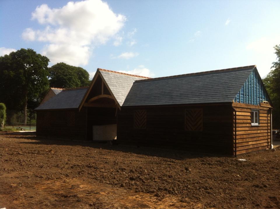 Dedham Barn Roof Installed