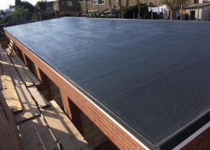 GRP Roofing on garages in Harwich Essex