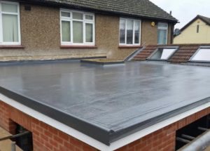 Braintree GRP Roof Installed