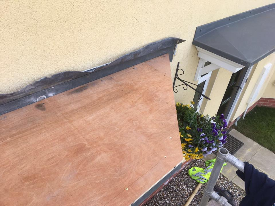Chelmsford Lead Work on Flat Roof