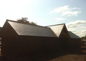 Dedham Barn Roof Installation