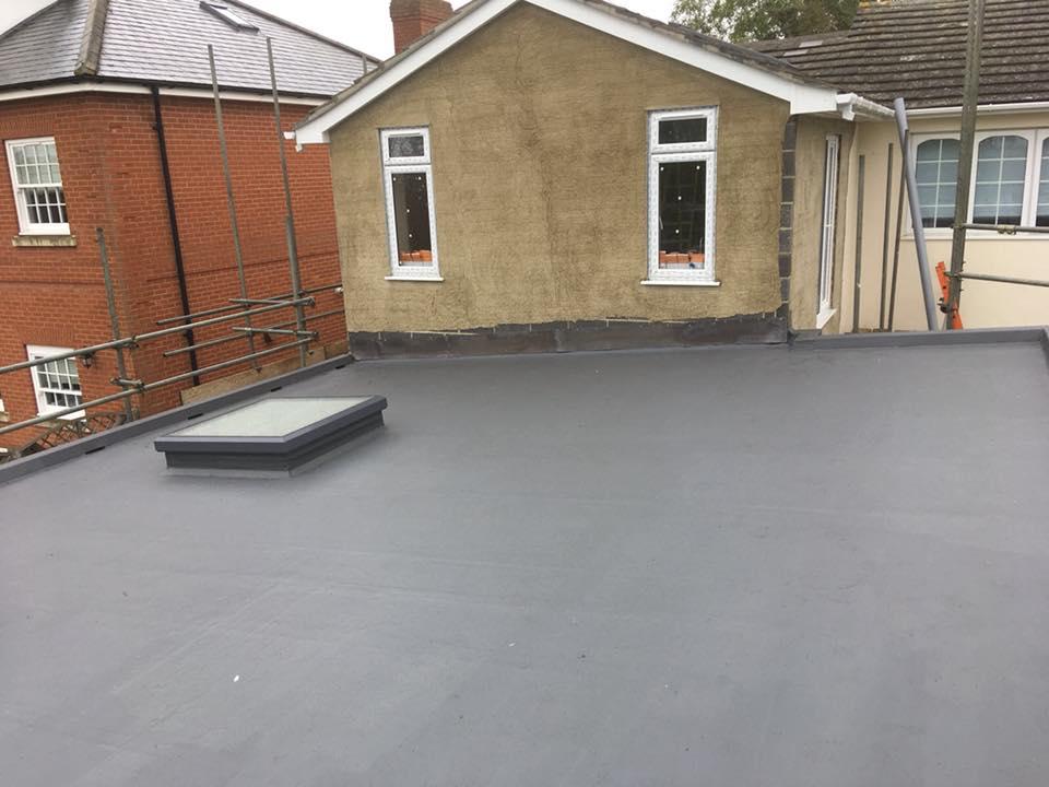 GRP Roof Installed in Wickham Bishops
