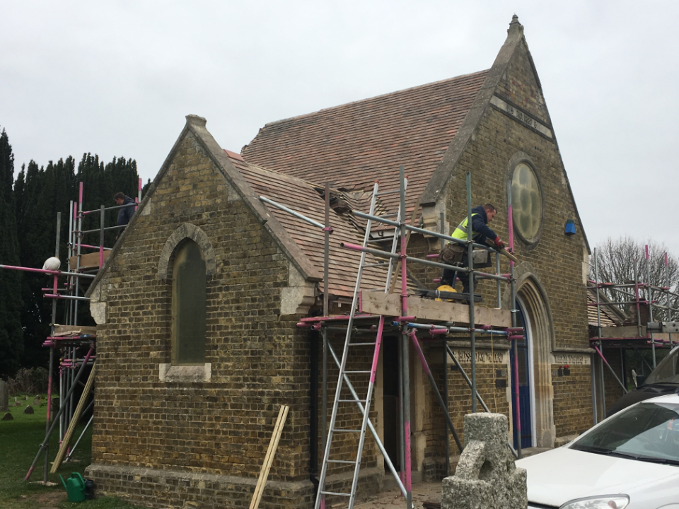 Heybridge Cemetery Roof Repair