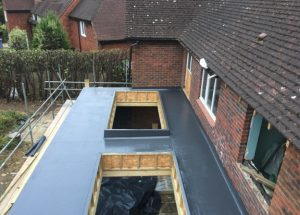 GRP Roof Hutton