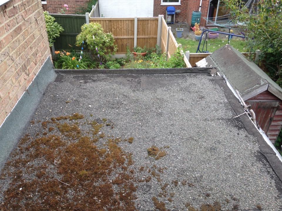 Flat Felt Roof Replacement Springfield Essex