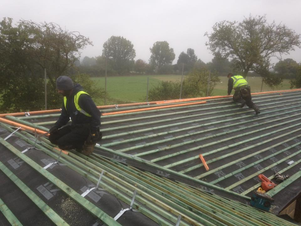 West Hanningfield Slate Roof Installed