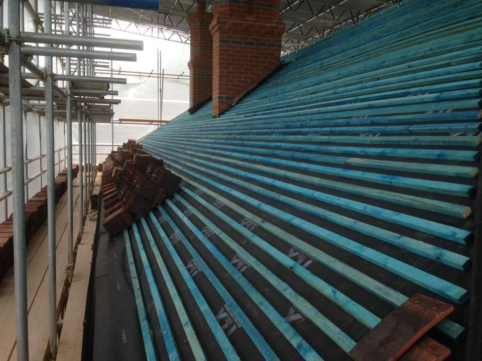 West Hanningfield roof strip and retile