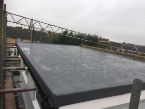 GRP Flat Roof Installation in Chelmsford