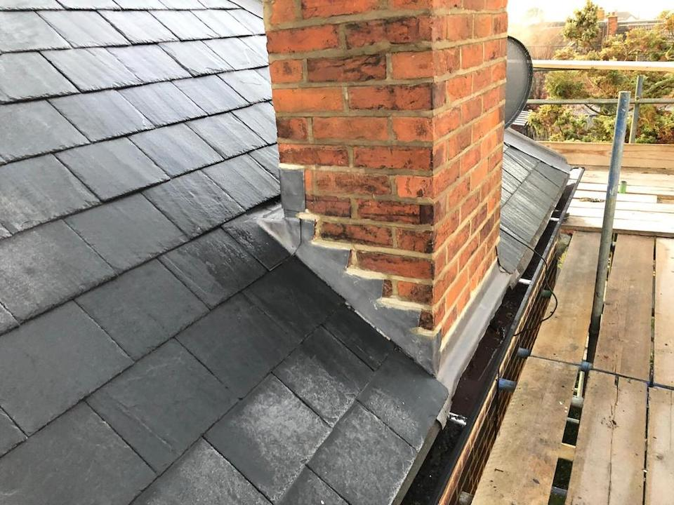 Burnham Roof Strip and Replacement